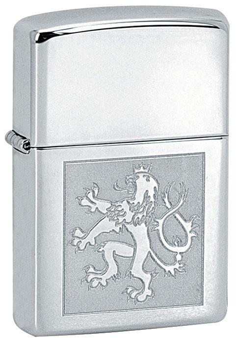 Zippo zapalovač 22650 Czech Lion in Square