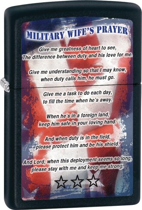 Zippo zapalovač 26418 Military Wifes Prayer