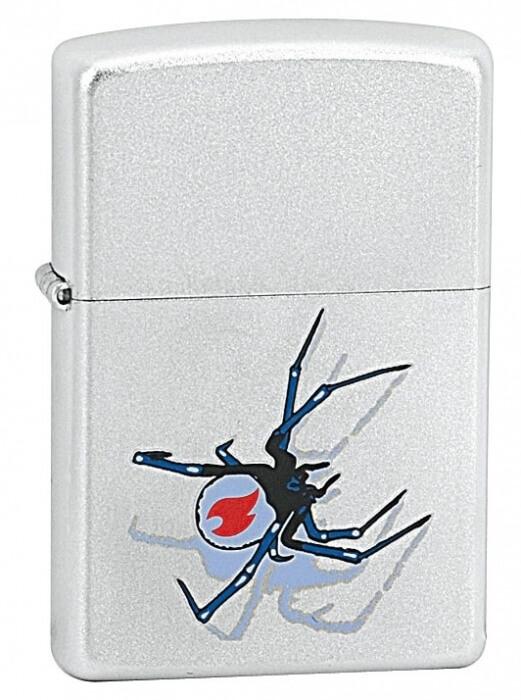 Zippo zapalovač 20269 Black Widow Zippo Flame