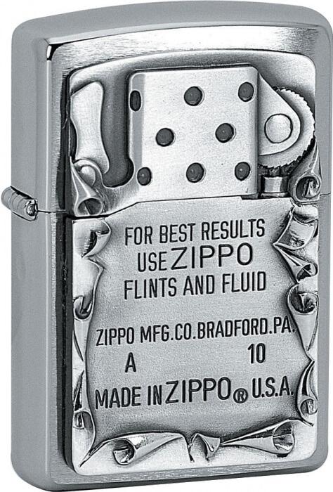 Zippo zapalovač 21561 Use Zippo Emblem