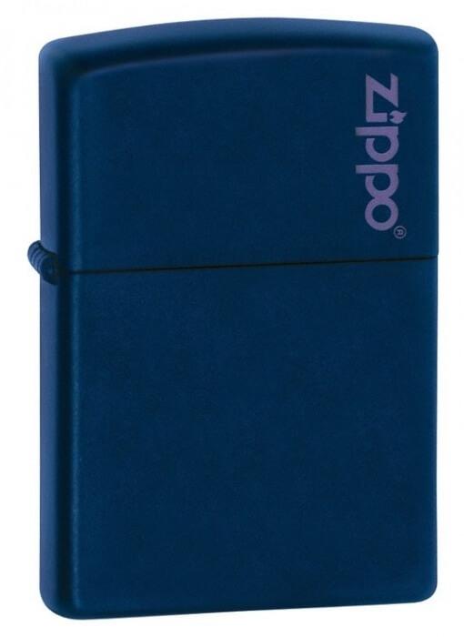 Zippo zapalovač 26098 Navy Matte w/Zippo Logo
