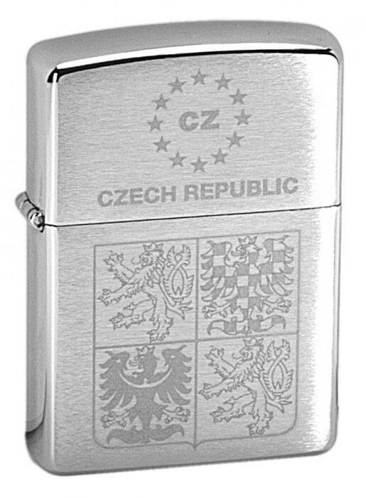 Zippo zapalovač 21362 Czech Coat of Arms