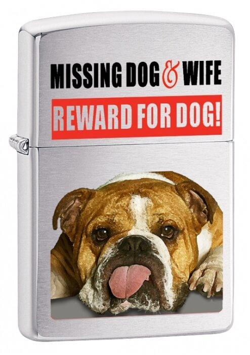 Zippo zapalovač 21828 Missing Dog and Wife