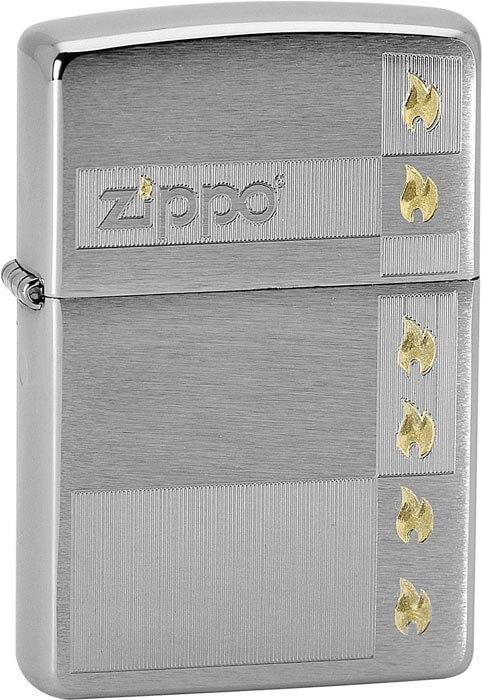 Zippo zapalovač 21741 Zippo and Flames