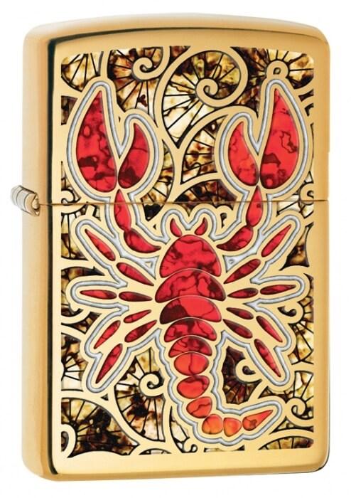 Zippo zapalovač 24188 Scorpion Shell