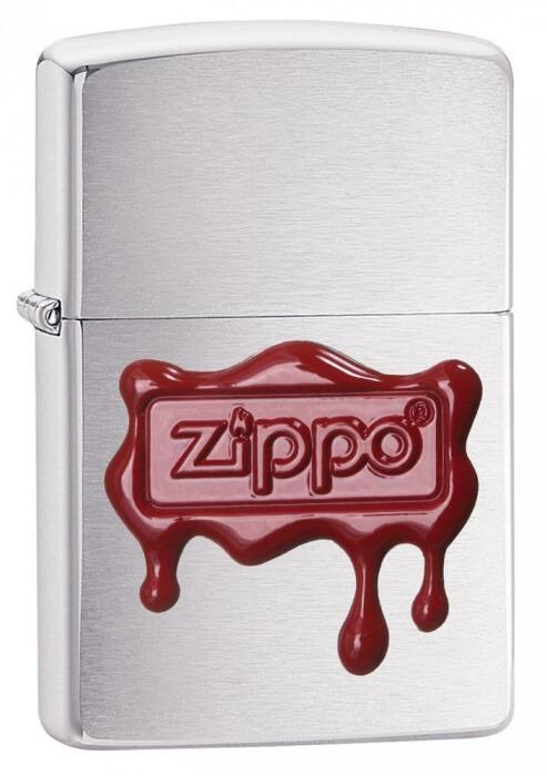 Zippo zapalovač 21891 Red Wax Seal