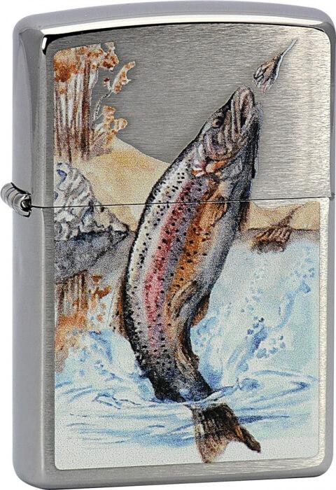 Zippo zapalovač 21862 Jumping Trout