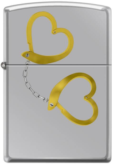 Zippo zapalovač 22028 Handcuffs of Love