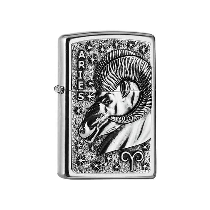 Zippo zapalovač 25555 Aries Zodiac Emblem