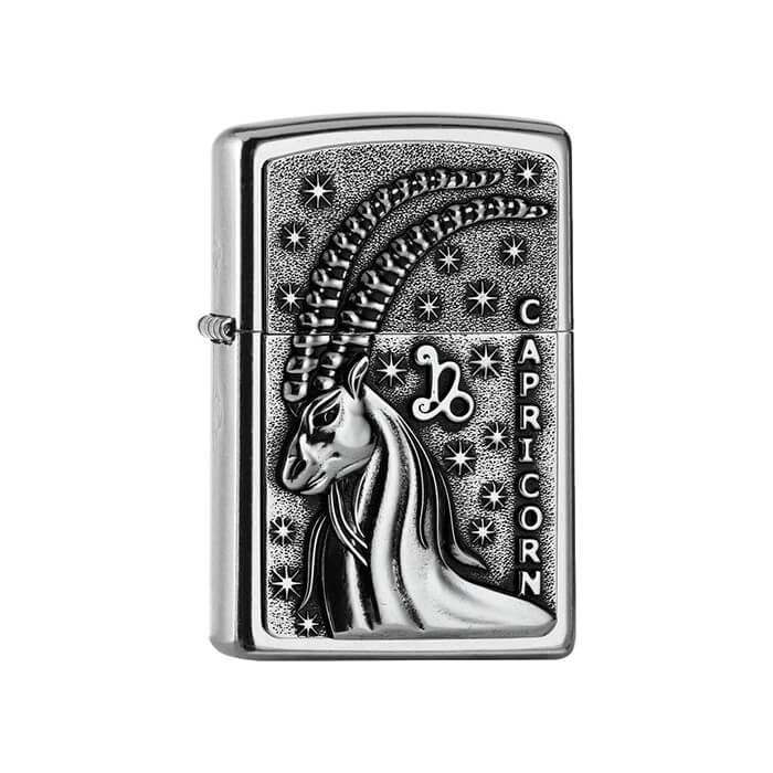 Zippo zapalovač 25554 Capricorn Zodiac Emblem