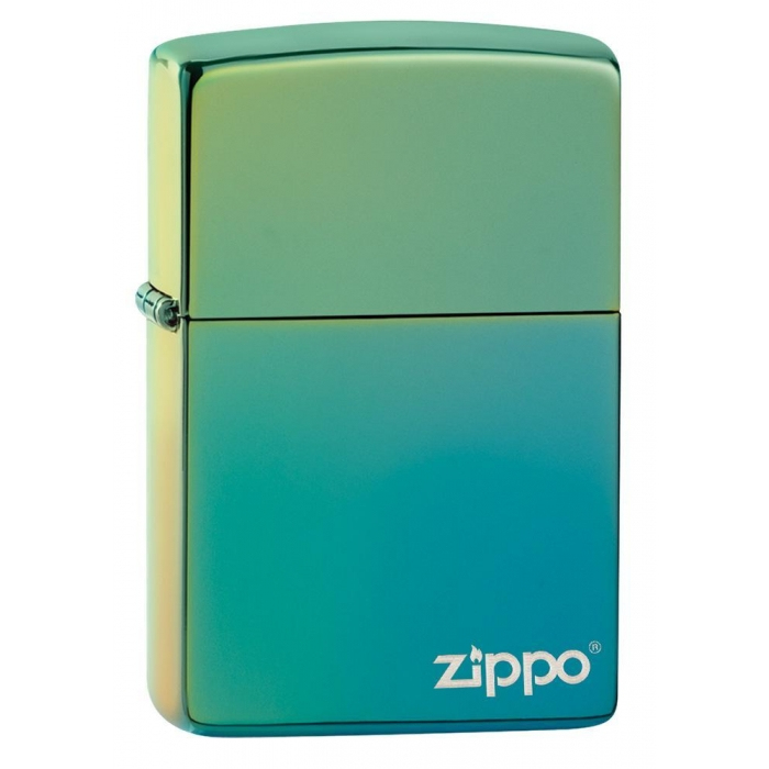 Zippo zapalovač 26914 High Polish Teal Zippo Logo