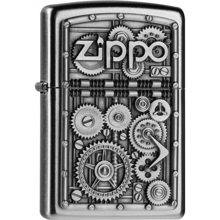Zippo zapalovač 20395 Gear Wheels