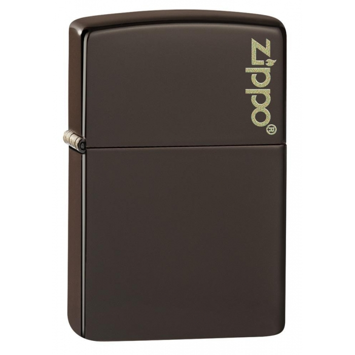 Zippo zapalovač 26911 Brown Zippo Logo